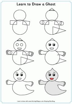 Learn to Draw a Ghost