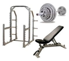 Body Solid Pro Multi Squat Rack With FID Bench And 300 lb Olympic Set ** Learn more by visiting the image link. Loose Weight Food, Ways To Loose Weight, Home Gym Equipment, No Equipment Workout, Fitness Equipment, Losing Weight Memes, Smith Machine Workout, Lose Weight While Pregnant, Adjustable Weight Bench