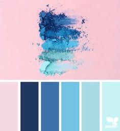 { color crush } image via: The post Color Crush appeared first on Design Seeds. Design Seeds, Blue Colour Palette, Colour Schemes, Color Patterns, Pink Palette, Navy Color, Pastel Blue Color, Blue Color Combinations, Sea Colour