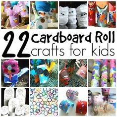 Toilet Roll Crafts for Kids - Happy Hooligans