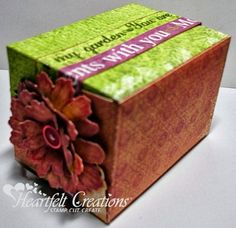 Heartfelt Creations | Moments With You Gift Box