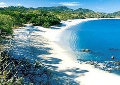 Playa Conchal , Costa Rica where the sand literally consists of naturally crushed up sea shells..one of the many west Costa Rica gems,