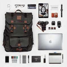 #packandgo what's inside you Langly camera bag. Www.langly.co @alilustralee