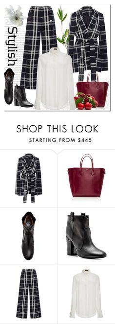 """""""Street Style"""" by ilona-828 ❤ liked on Polyvore featuring 10 Crosby Derek Lam, Rochas, Laurence Dacade, Joseph, StreetStyle, modaoperandi and polyvoreeditorial"""