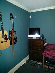 My Brothers music room...