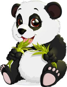 View an illustration of Panda from the community of … Panda Wallpapers, Cute Cartoon Wallpapers, Bear Cartoon, Cartoon Art, Cute Animal Drawings, Cute Drawings, Panda Lindo, Cute Panda Wallpaper, Panda Drawing