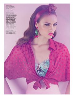 visual optimism; fashion editorials, shows, campaigns & more!: lady retro: paloma passos by eduardo rezende for marie claire brasil august 2013