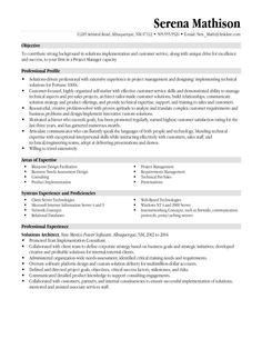 Resume Format 20 Years Experience | 2-Resume Format | Sample resume ...