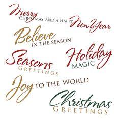 Free Printable Christmas Cards | Free Printable Christmas Card Sayings — Digital Card Fun
