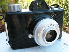 The Agfa Click-1 is a medium format film viewfinder camera manufactured by Agfa Kamerawerk AG, Munich, Germany and produced between 1958-70.