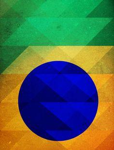 BRAZILIAN TRIANGLES  #urbanarts #urbanartswall #arte #art #popart #poster #canvas #design #arq #decor #homedecor #homestyle #artdecor #wallart #arquitetura #architecture