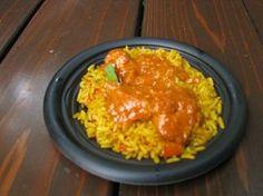 Vegan Jollof Rice Recipe served at Tusker House in Animal Kingdom at Disney World Quick Recipes, Side Dish Recipes, Easy Healthy Recipes, Veggie Recipes, Cooking Recipes, Healthy Dinners, Healthy Eats, Pasta Recipes, Healthy Foods