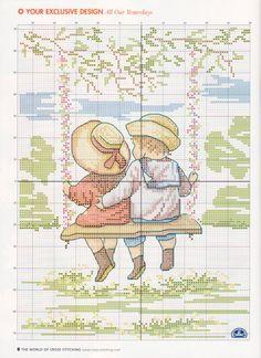 Gallery.ru / Фото #6 - The world of cross stitching 082 март 2004 - WhiteAngel na houpačce 2/3