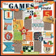 The Games I Played - Scrapbook.com