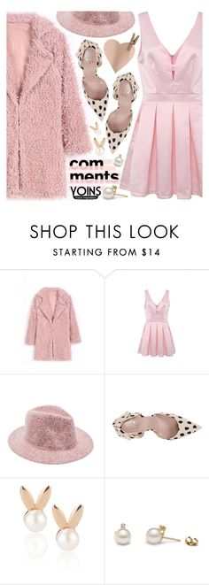 """""""Yoins IX"""" by pastelneon ❤ liked on Polyvore featuring Kate Spade, Aamaya by priyanka, cute, Pink, soft, girly and yoins"""