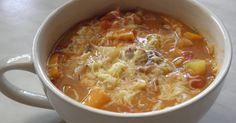Mám pro vás tip na večeři, kterou jsem si já osobně v poslední době opravdu oblíbila. Jde vlastně o zeleninovou polévku. A co v ní je? V... Cheeseburger Chowder, Good Food, Food And Drink, Recipes, Soups, Diet, Soup, Ripped Recipes