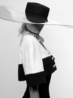 Black and White Always In, #style Chanel