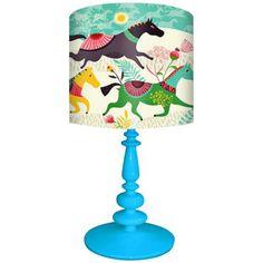Oopsy Daisy Wild Horses Children's Table Lamp -