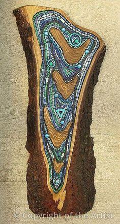"Maplestone Gallery  ~  Contemporary Mosaic Art  ""Ripples""  by Gillian Swanink"