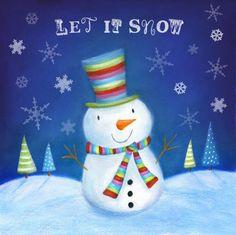 Leading Illustration & Publishing Agency based in London, New York & Marbella. Christmas Card Images, Christmas Scenes, Christmas Past, Christmas Snowman, Christmas Projects, Christmas Humor, Snowmen Pictures, Snowman Pics, Snowman Images