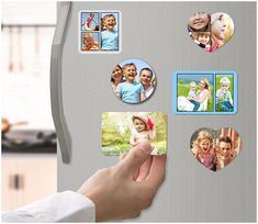 Rember that once-in-a-lifetime vacation you took? Now you can relive it every time you pass your fridge with our custom photo magnets!   #photomagnets #homedecor