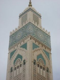 The second biggest mosque in the world is in Casablanca  Morocco.