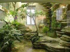 Make Oriental Atmosphere With Indoor Japanese Garden Interior Garden, Interior And Exterior, Easy Garden, Home And Garden, Vertical Gardens, Houseplants, Vegetable Garden, Beautiful Gardens, Indoor Plants