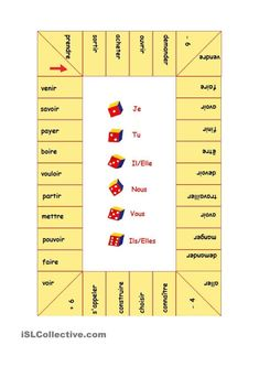 la conjugaison des verbes French Adjectives, French Verbs, French Grammar, French Teaching Resources, Teaching French, Gcse French, Futur Simple, Material Didático, French Education