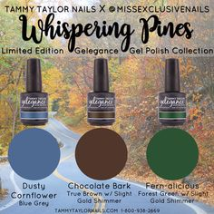 "Tammy Taylor Nails X @MISSEXCLUSIVENAILS ""Whispering Pines"" Limited Edition…"