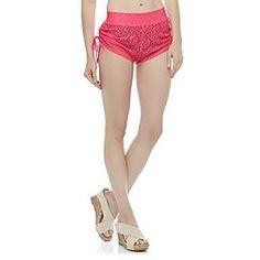 1779bec54f Joe Boxer Women s Crochet Swim Cover-Up Shorts at Kmart.com Swim Cover