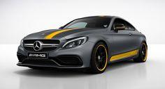 Mercedes-Benz C-Klasse Coupé: AMG Edition 1