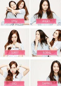 Jessica SNSD Krystal fx Cover Girls 2014