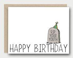 Birthday Card Funny Birthday Card Birthday Card Friend