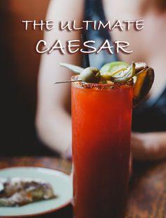 The Ultimate Caesar at Ferris' Oyster Bar, Victoria, B.C. #ExploreVictoria