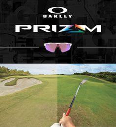 Oakley PRIZM golf eyewear now available online.