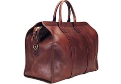 Leather Trunk Weekend Travel bag
