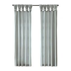 Emilia Single Curtain Panel in Blue