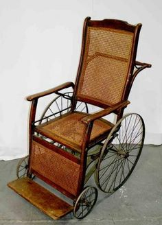 Old Fashioned Wheel Chair   Google Search