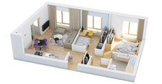 40 Más de 2 dormitorios Planos Inicio