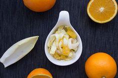 Chicoree-Salat mit Orangen