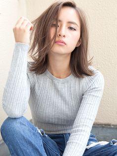 ≪ 2020 春 : 新着順 ≫ ミディアムヘアスタイル髪型 in 2020 Medium Hair Styles, Short Hair Styles, Hair Arrange, Japanese Hairstyle, How To Make Hair, Brunette Hair, Hair Today, Cut And Style, Hair Designs