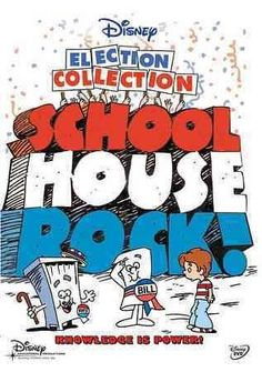 SCHOOLHOUSE ROCK livens up snooze-worthy lessons with catchy tunes, making even the minutiae of grammar and multiplication tables fun to learn (and impossible to stop singing!). THE ELECTION COLLECTIO                                                                                                                                                                                 More