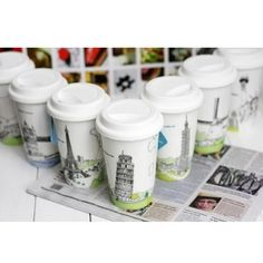 Declare I M Not A Plastic Cup With Customizable Ceramic Travel Coffee Cups From Quality Logo Products These Uniquely Designed Reusable Tumblers Won T