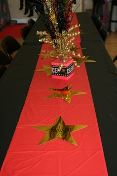 Red Carpet Party Decor...