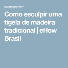 Como esculpir uma tigela de madeira tradicional | eHow Brasil