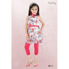 Net Leggings, Baby Leggings, Girls Leggings, Tops For Leggings, Frocks And Gowns, Girls Dresses Online, Girl Online, Online Dress Shopping, Long Tops