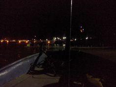 Anochecer en el lago
