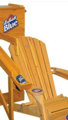 Gmg Unique Solutions Drink Dispensing Adirondack Chair