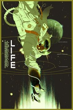 Life movie poster Fantastic Movie posters #SciFi movie posters #Horror movie posters #Action movie posters #Drama movie posters #Fantasy movie posters #Animation movie Posters