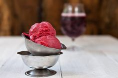 This adult-only lambic, blend-and-churn sorbet that will impress the guests at your next summer party. Ice Cream Desserts, Ice Cream Recipes, Just Desserts, Vegan Desserts, Baking With Beer, Best Ice Cream Maker, Making Homemade Ice Cream, Ice Cream Cookie Sandwich, Best Sweets